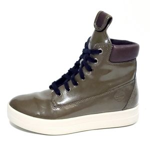 Timberland Olive Green Platform Boots Sneakers